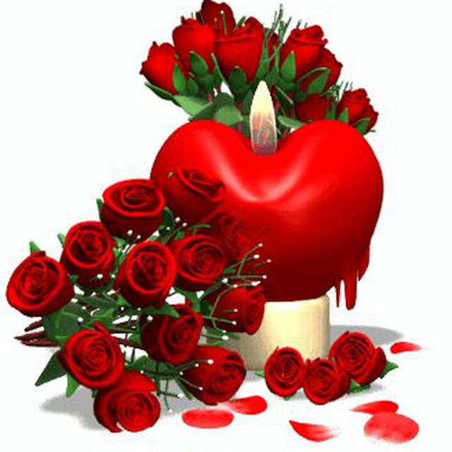Магистр дьявольского, цветы валентине гифки